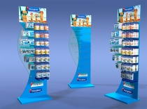 3M Viscoplast Nexcare display